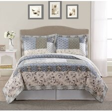 Youngston Lifestyles 3 Piece Full/Queen Quilt Set