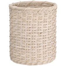 Organize It All Natural Round Wicker Wastebasket