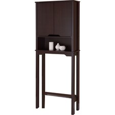 "Ambassador 25.88"" x 67"" Free Standing Over The Toilet"