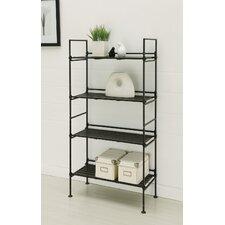 """45.375"""" Accent Shelves Bookcase"""