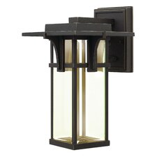 Manhattan 1 Light Outdoor Wall Lantern