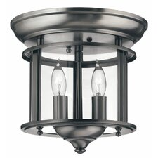 Gentry 2 Light Flush Mount