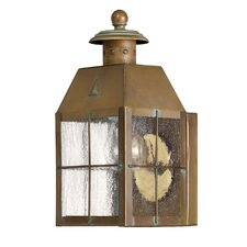 Nantucket 1 Light Outdoor Wall Lantern