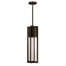 Shelter 1 Light Outdoor Pendant