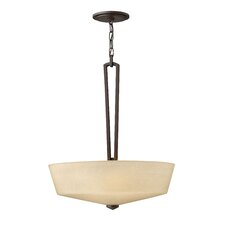 Parker 3 Light Inverted Pendant
