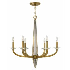 Ascher 6 Light Candle Chandelier