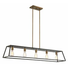 Fulton 5 Light Kitchen Island Pendant