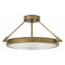 Collier 4 Light Semi Flush Mount