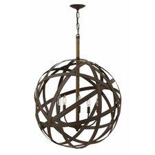 Carson 5 Light Globe Pendant