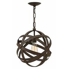 Carson 1 Light Globe Pendant