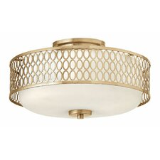 Jules 3 Light Semi Flush Mount