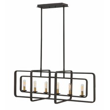Quentin 6 Light Candle Chandelier