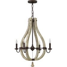 Middlefield 4 Light Candle Chandelier