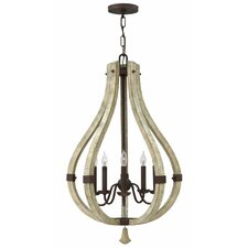 Middlefield 5 Light Candle Chandelier