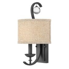 "9.5"" Marion Fabric Drum Wall Sconce Shade"