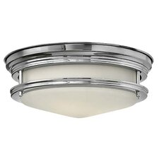 Hadley 2 Light Foyer Flush Mount
