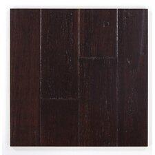 "5"" Engineered Bamboo Hardwood Flooring in Blackened Hickory"