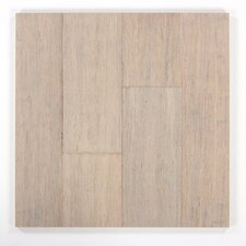 "5"" Engineered Bamboo Hardwood Flooring in Ivory"