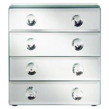 Beautify Mirrored Glass Jewelry Box