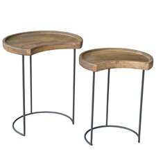 Gerrit Light 2 Piece Nesting Tables