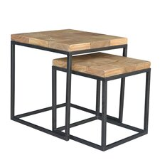 Hermes 2 Piece Nesting Tables