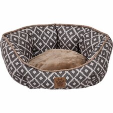 Snoozzy IKAT Clamshell Bed