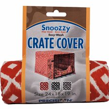Snoozzy Ikat Crate Cover