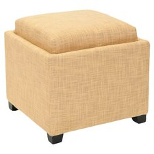 Carter Single Tray Storage Ottoman