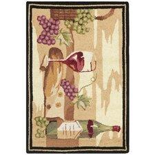 Chelsea Ivory Wine Cellar Novelty Area Rug