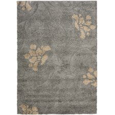 Florida Shag Gray/Beige Area Rug