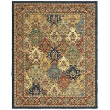 Heritage Multi/Burgundy Area Rug