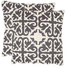 Moroccan Shag Cotton Throw Pillow (Set of 2)
