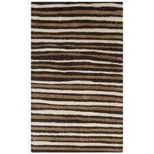 Martha Stewart Tilled Soil Brown Area Rug