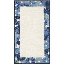 Martha Stewart Azurite Ivory/Blue Area Rug