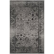 Adirondack Grey & Black Area Rug