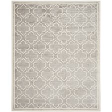 Amherst Light Gray/Ivory Outdoor Area Rug