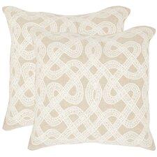 Lola Cotton Throw Pillow (Set of 2)