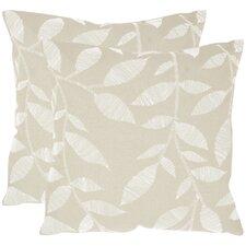 May Cotton Throw Pillow (Set of 2)