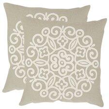 Joanna Cotton Throw Pillow (Set of 2)