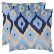 Jay Cotton Throw Pillow (Set of 2)