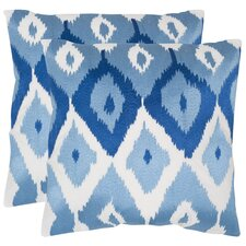 Lexi Cotton Throw Pillow (Set of 2)