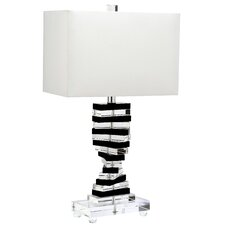 "Key 25.75"" H Table Lamp with Rectangular Shade"