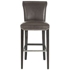 "Seth 30"" Bar Stool with Cushion"