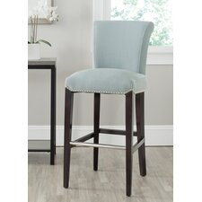 "Seth 29.3"" Bar Stool with Cushion"