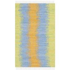 Montauk Green / Gold Contemporary Rug