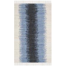 Montauk Grey & Black Contemporary Rug