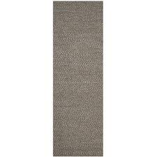 Natural Fiber Contemporary Grey Area Rug