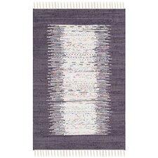 Montauk Ivory / Purple Contemporary Rug