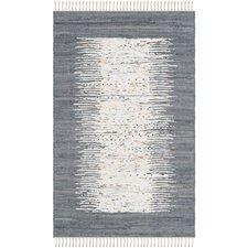 Montauk Ivory & Grey Contemporary Area Rug