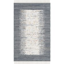 Montauk Ivory / Grey Contemporary Area Rug